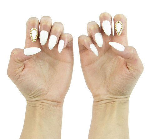 Nailhur Snap On Manicure - Bling Bling (Stiletto)