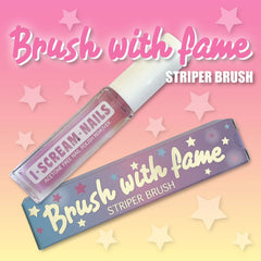 I-Scream-Nails - Brush with Fame - Nail Art Striper Brush