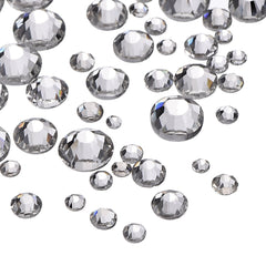 Clear Rhinestones (Various Sizes)