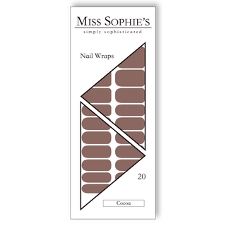 Miss Sophie's Nail Wraps - Cocoa