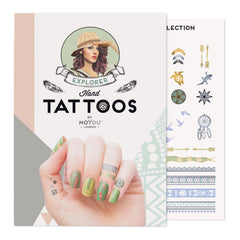 MoYou London Tattoos Hand - Explorer (Color 01)
