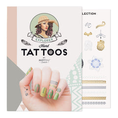 MoYou London Tattoos Hand - Explorer (Color 02)