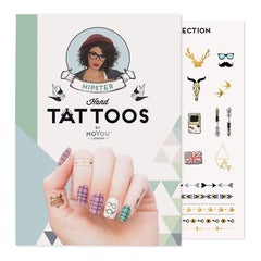 MoYou London Tattoos Hand - Hipster (Color 01)