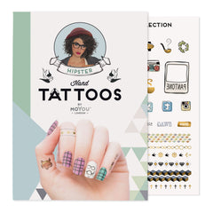 MoYou London Tattoos Hand - Hipster (Color 02)