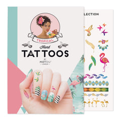 MoYou London Tattoos Hand - Tropical (Color 01)
