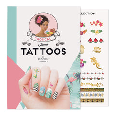 MoYou London Tattoos Hand - Tropical (Color 02)