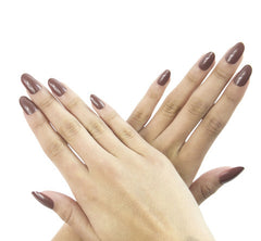 Nailhur Snap On Manicure - Dolce (Oval)