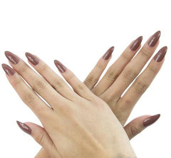 Nailhur Snap On Manicure - Dolce (Stiletto)