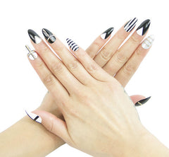 Nailhur Snap On Manicure - Empire (Stiletto)