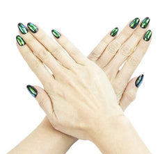 Nailhur Snap On Manicure - Envy (Oval)