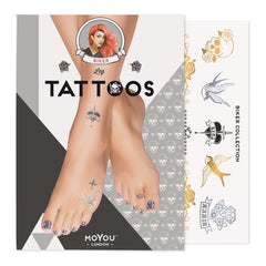 MoYou London Tattoos Leg - Biker