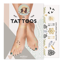 MoYou London Tattoos Leg - Explorer