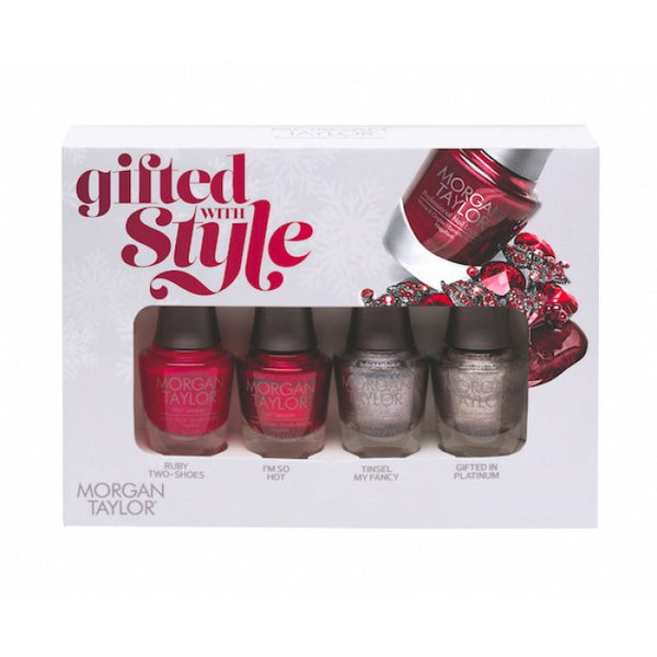 Morgan Taylor Nail Lacquer - Gifted With Style Mini Pack