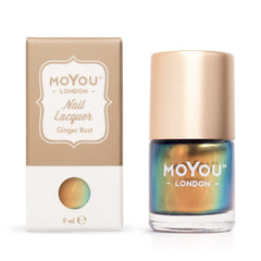 MoYou London Stamping Nail Lacquer - Ginger Rust