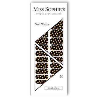 Miss Sophie's Nail Wraps - Golden Star