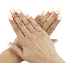 Nailhur Snap On Manicure - Heiress (Stiletto)