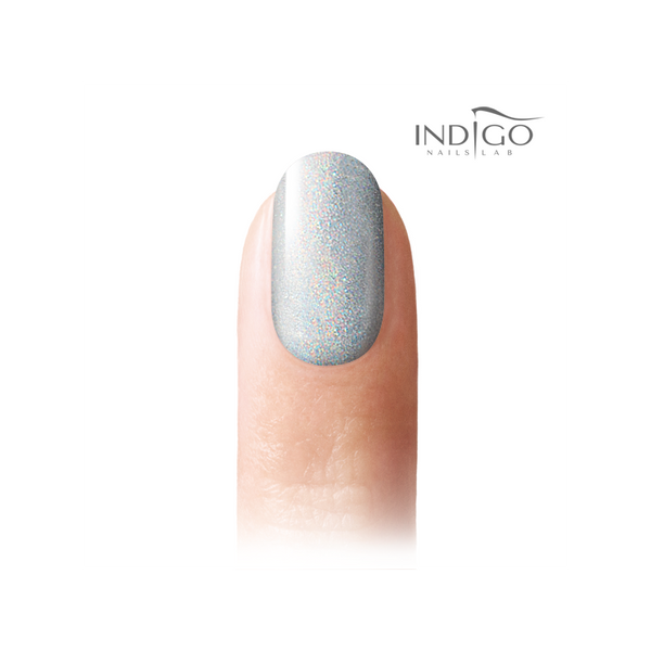 Indigo Holo Effect Powder - Silver