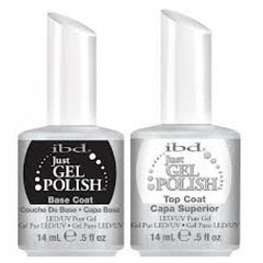IBD Just Gel Polish - Base Coat and Top Coat Duo (14ml each)