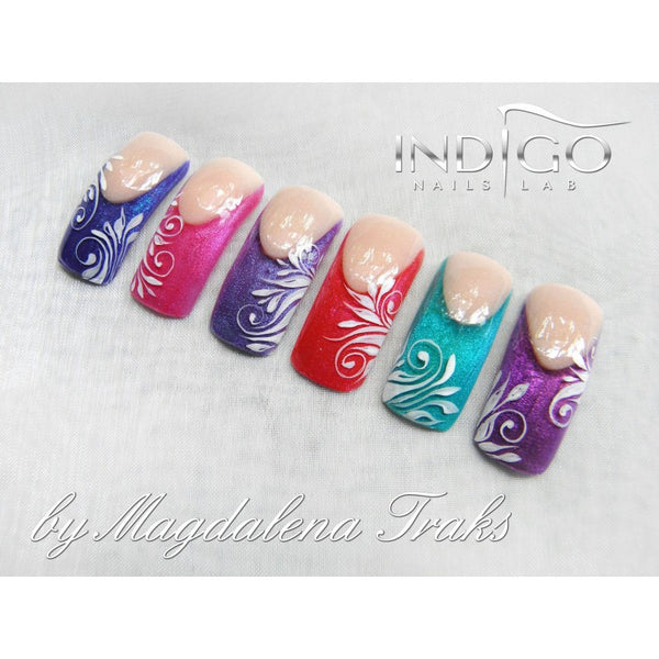 Indigo Nails Glitter Gel - 10 Desert Rose