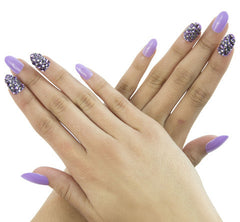 Nailhur Snap On Manicure - Like Candy (Oval)