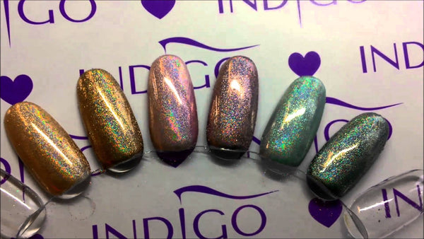 Indigo Holo Effect Powder - Grapefruit