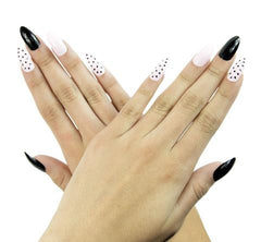 Nailhur Snap On Manicure - Mean Girls (Stiletto)