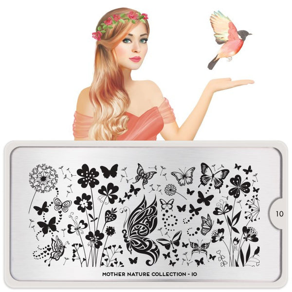 MoYou London Stamping Plate - Mother Nature 10