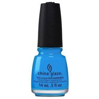China Glaze Nail Lacquer - DJ Blue My Mind