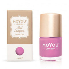 MoYou London Stamping Nail Lacquer - Orchid Chic