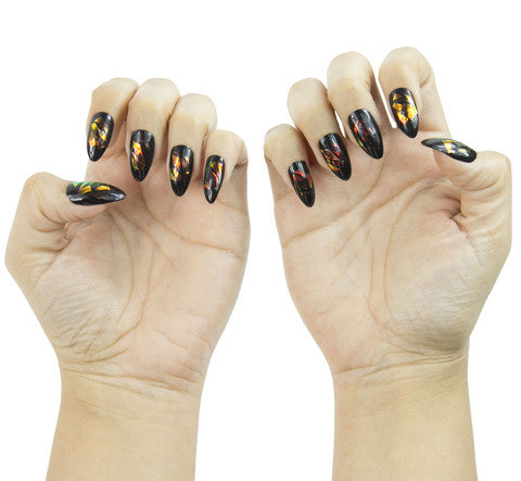 Nailhur Snap On Manicure - Pandora (Stiletto)