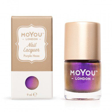 MoYou London Stamping Nail Lacquer - Purple Haze