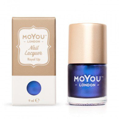 MoYou London Stamping Nail Lacquer - Royal Up