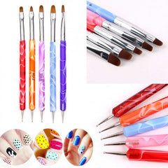 Gel Brush & Ballpoint Dotting Tool In One