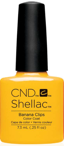 CND Shellac - Banana Clips (7.3ml)