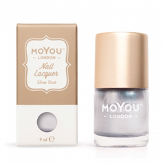 MoYou London Stamping Nail Lacquer - Silver Dust
