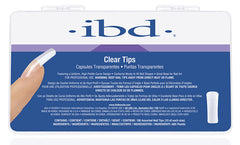 IBD Nail Tips - Clear (100 Pieces)