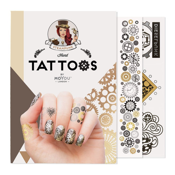 MoYou London Tattoos Hand - Steampunk
