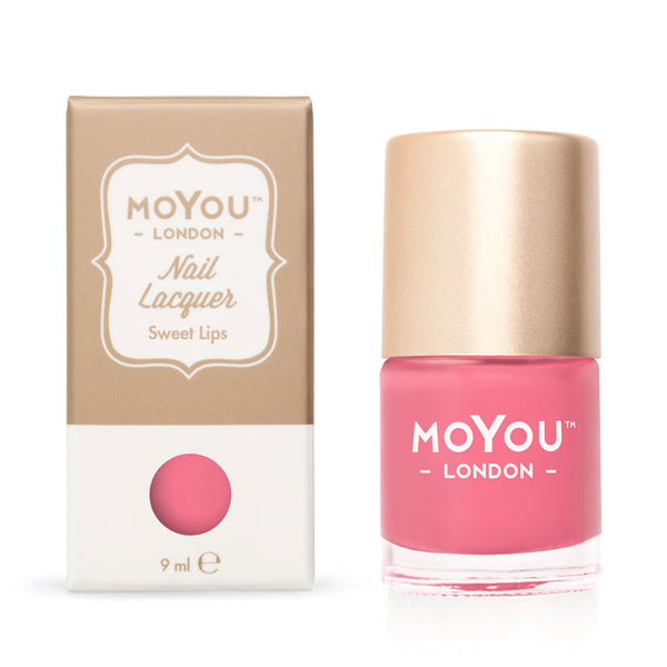 MoYou London Stamping Nail Lacquer - Sweet Lips