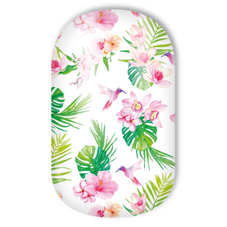 Miss Sophie's Nail Wraps - Tropical Orchids