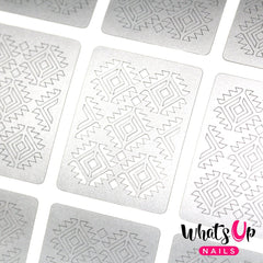 Whats Up Nails Nail Vinyl - Aztec Stencils