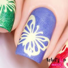 Whats Up Nails Nail Vinyl - Butterfly Wings Stencils