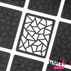 Whats Up Nails Nail Vinyl - Mosaic Stencils