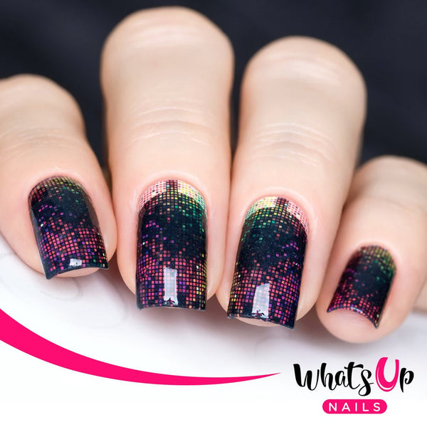 Whats Up Nails - P028 Pixelated Fun Water Decals