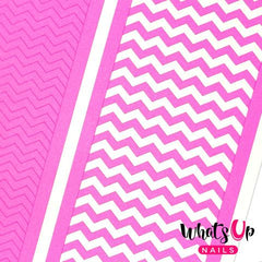 Whats Up Nails Nail Vinyl - Regular ZigZag Tape