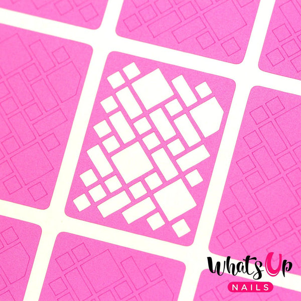 Whats Up Nails Nail Vinyl - Stained Glass Stencils