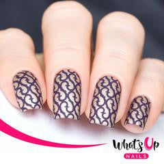 Whats Up Nails Nail Vinyl - Thorns Stencils