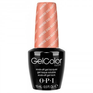 OPI GelColor - Where Did Suzi's Man-go?