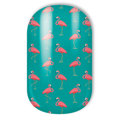 Miss Sophie's Nail Wraps - Fancy Flamingo