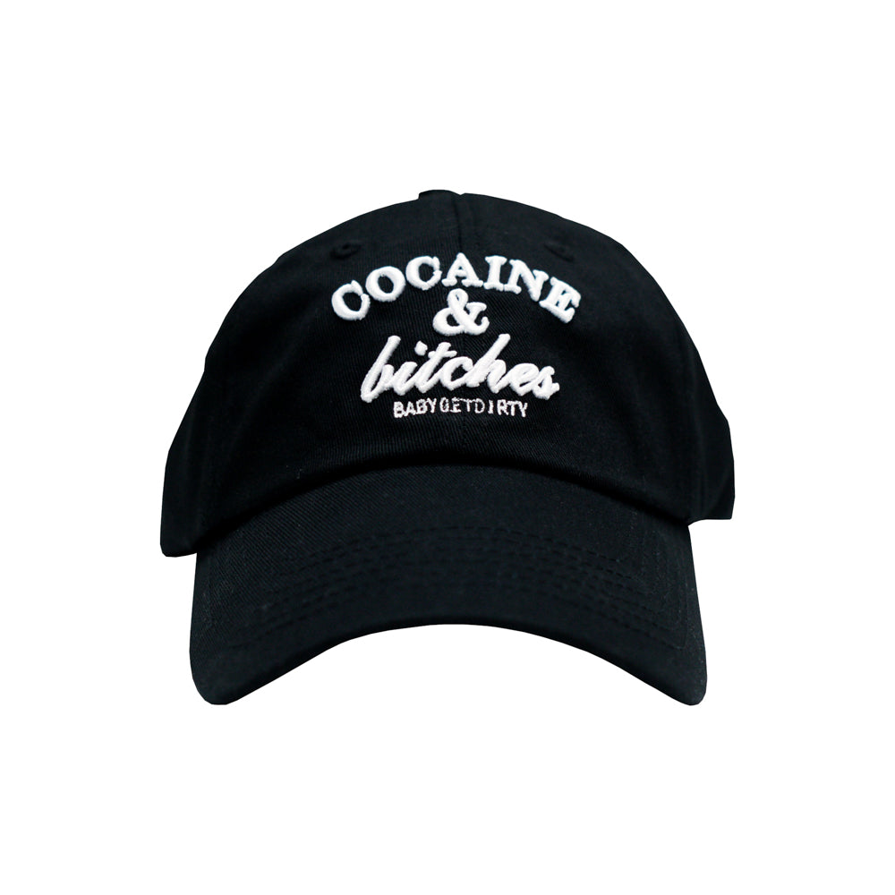 COCAINE & BITCHES BASEBALL CAP