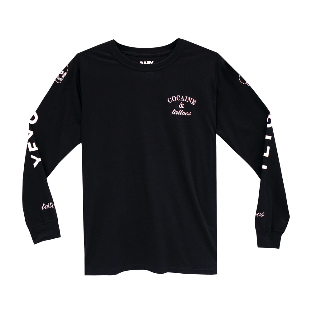 COCAINE & TATTOOS LONG SLEEVE